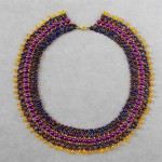 Free pattern for necklace Grand