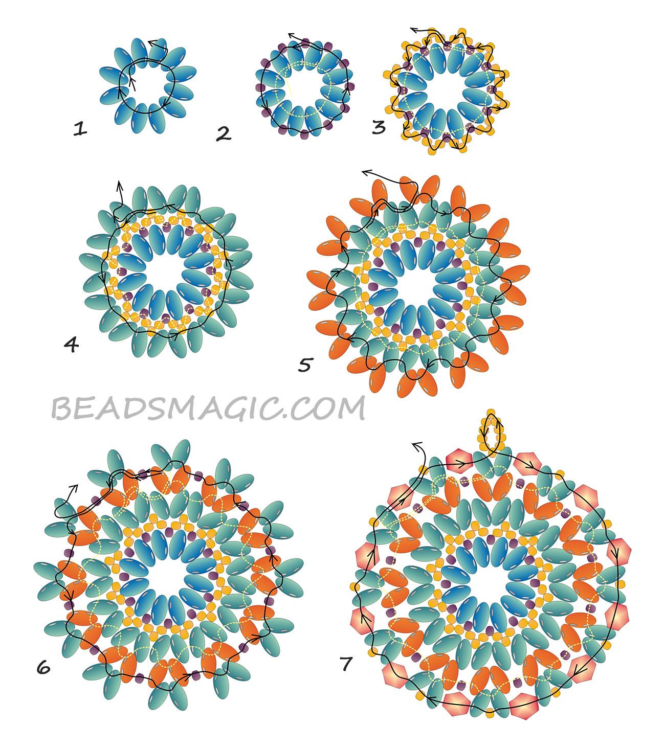 free-beading-pendant-tutorial-pattern-superduo-2