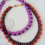 Free pattern for necklace Miriam
