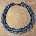 Free pattern for necklace Scilla