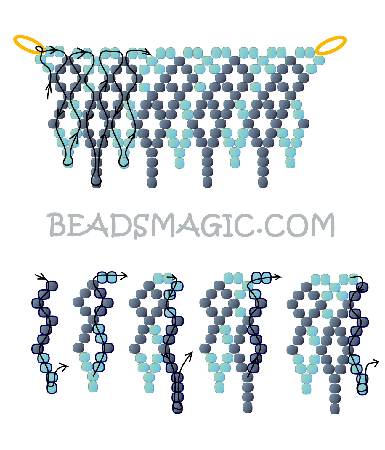 free-pattern-beaded-necklace-tutorial-red-blue-2
