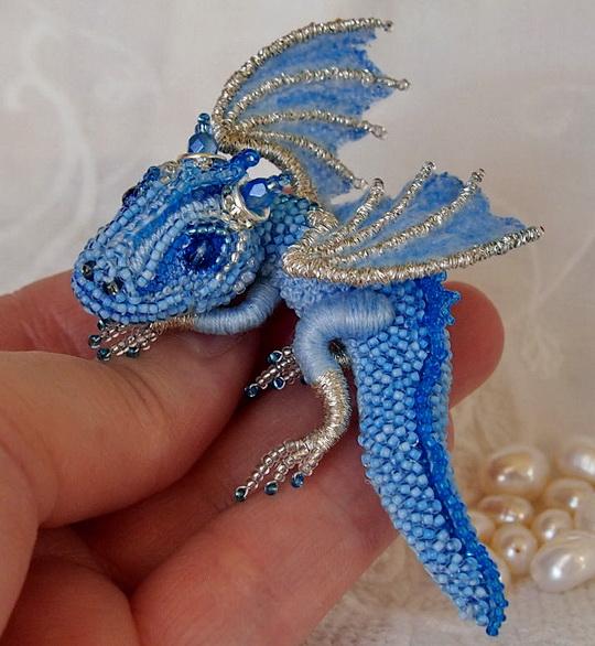 Beautiful Beaded Dragons By Alena Litvin Beads Magic