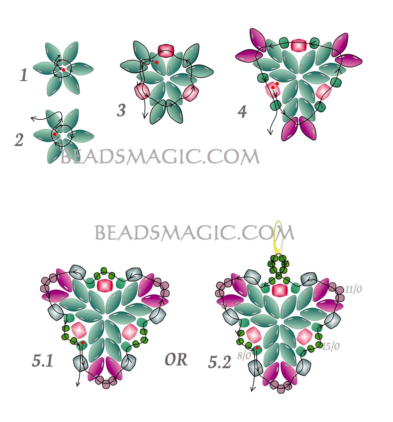 free-pattern-beading-earrings-tutorial-superduo-2