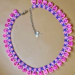Free pattern for necklace Macaroon