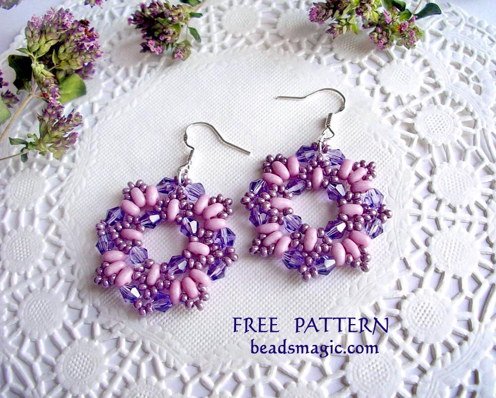 Earrings patterns | Beads Magic - Part 2