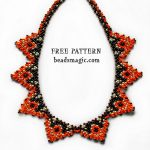 Free pattern for necklace Papaya