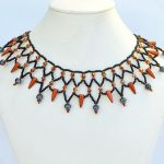 Free pattern for necklace Vivian