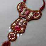 Beautiful embroidered jewelry by Anna Galash (part II)