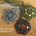 Free pattern for  pendant  Antique