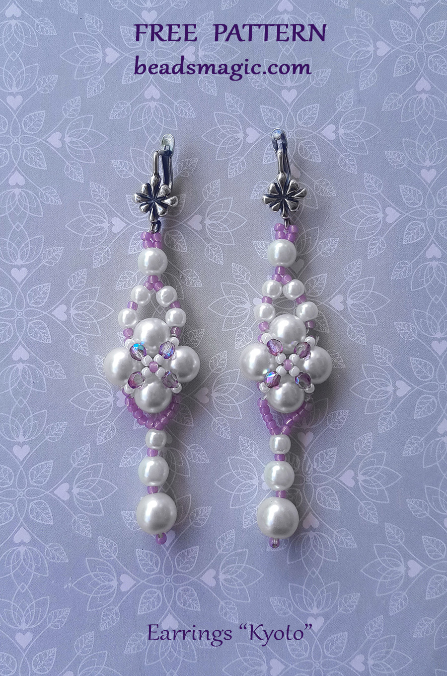 Earrings Pattern Beads Magic