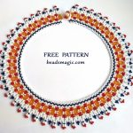 Free pattern for necklace Julia