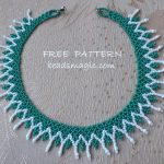 Free pattern for necklace Megan