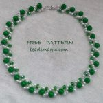 Free pattern for necklace Peppy