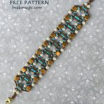 Free pattern for bracelet Sandra