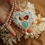 Beauitiful jewelry in St.Valentine`s Day style