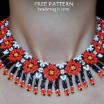Free pattern for necklace Arja