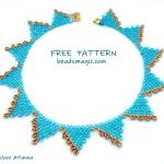 Free pattern for necklace Atlanna
