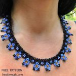 Free pattern for necklace Iris