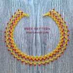 Free pattern for necklace July