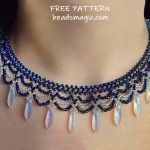 Free pattern for necklace Elsa
