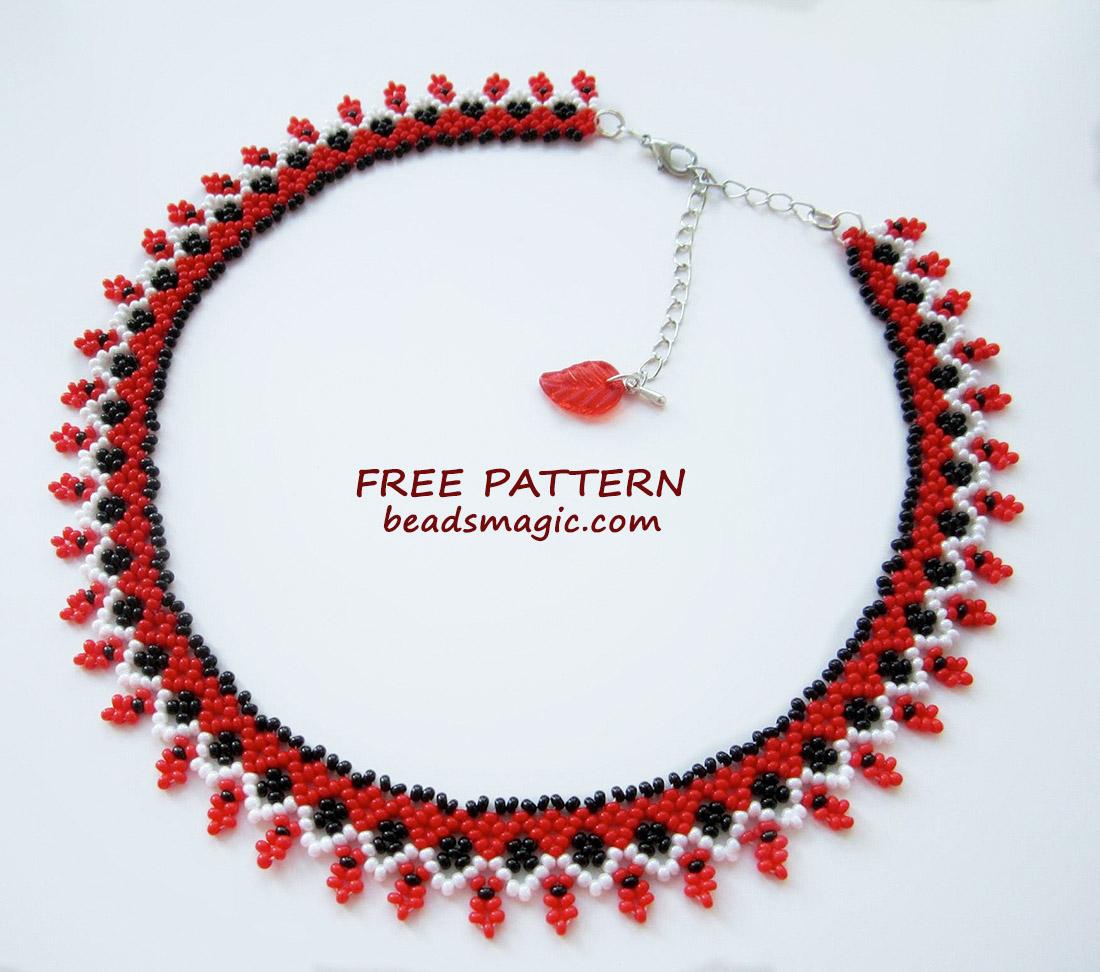 free-beading-pattern-necklace-beaded-instructions-beadsmagic-1
